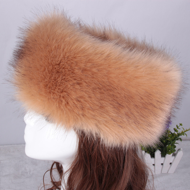 High Quality Faux Fur Silver Fox Fur Cap Casquette Homme Women Winter Beanie Hat Feminina Hollow Off For Ponytail Hair CP089