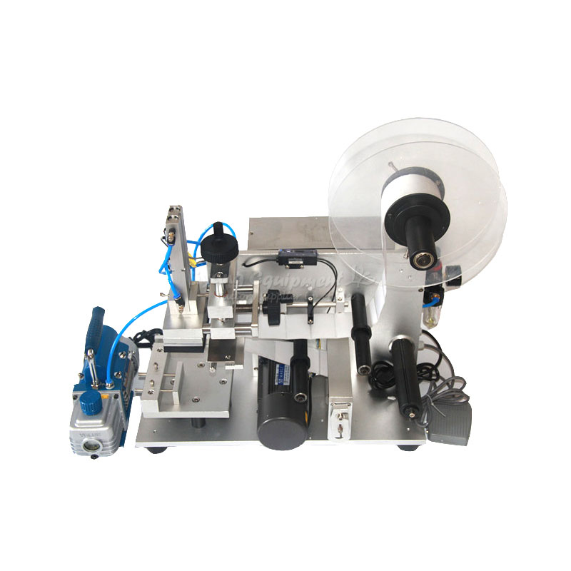 LT-60 semi-automatic plane self-adhesive labeling machine ru eu no tax automatic lt 60 plane self adhesive label machine