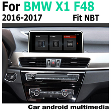 Car Android original style For BMW X1 F48 2016~2017 NBT GPS Navigation Map 2 Din radio stereo multimedia player DSP touch screen gps navigation auto radio multimedia player for bmw x1 f48 2016 2017 nbt system 10 25 ips screen android 8 1 px6 vehichle navi