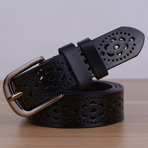 Image 5 - Hot البيع عالية الجودة الفاخرة النساء حزام جلد طبيعي الإناث حزام الخصر دبوس مشبك الأحزمة للنساء سيدة waistband