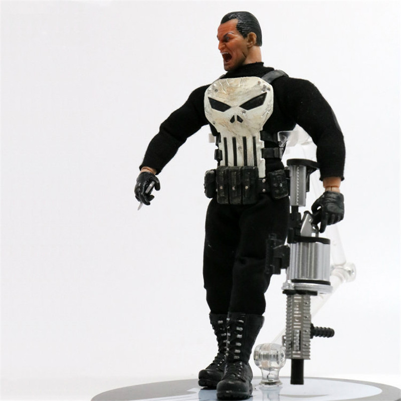 Avengers Frank Castle Anti-Hero Punisher Justice League PVC Action Figure Anime Collectible Model Toy L2028 30cm crazy toys punisher figure frank castle 16 scale collectible action figure collection model toy 12inch