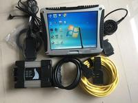 Newest ICOM A2 Auto Diagnostic Programming Tool ICOM NEXT A+B+C HDD Software with For Panasonic CF 19 Toughbook laptop