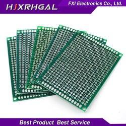 100 шт. 5x7 см 5*7 двухсторонний Прототип PCB diy универсальная печатная плата igmoprrq
