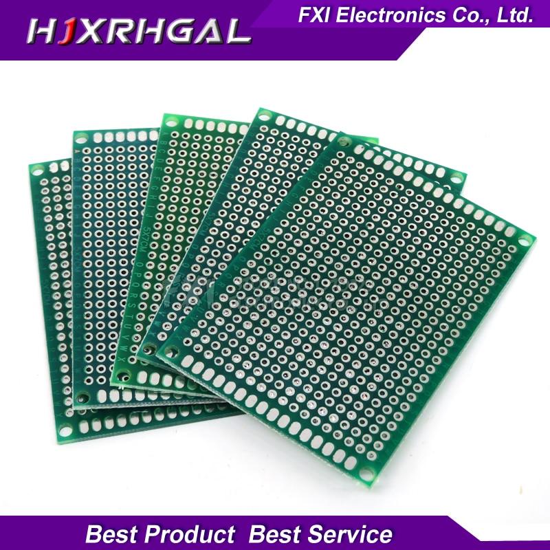 100pcs 5x7cm 5*7 Double Side Prototype PCB diy Universal Printed Circuit Board  igmopnrq
