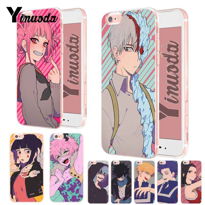 Yinuoda My hero academia New High Quality Multi Colors Luxury phone case for Apple iPhone 8 7 6 6S Plus X XS XR XsMax 5 5S case