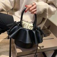 Bag for women Ins personality portable small bag female 2019 new Korean fashion bucket bag shoulder Messenger bag