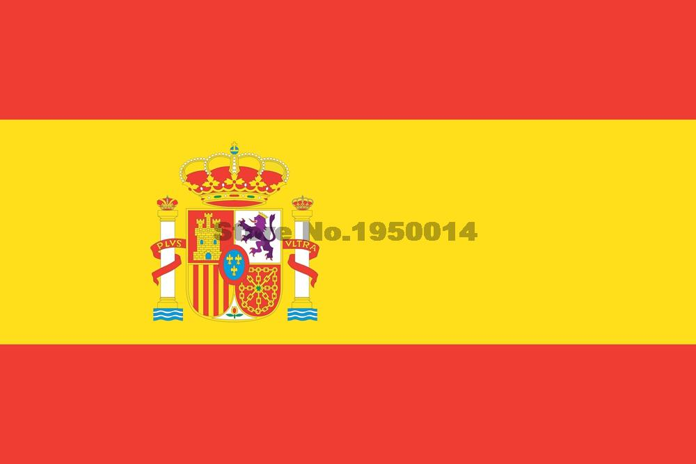 Spain National Flags World