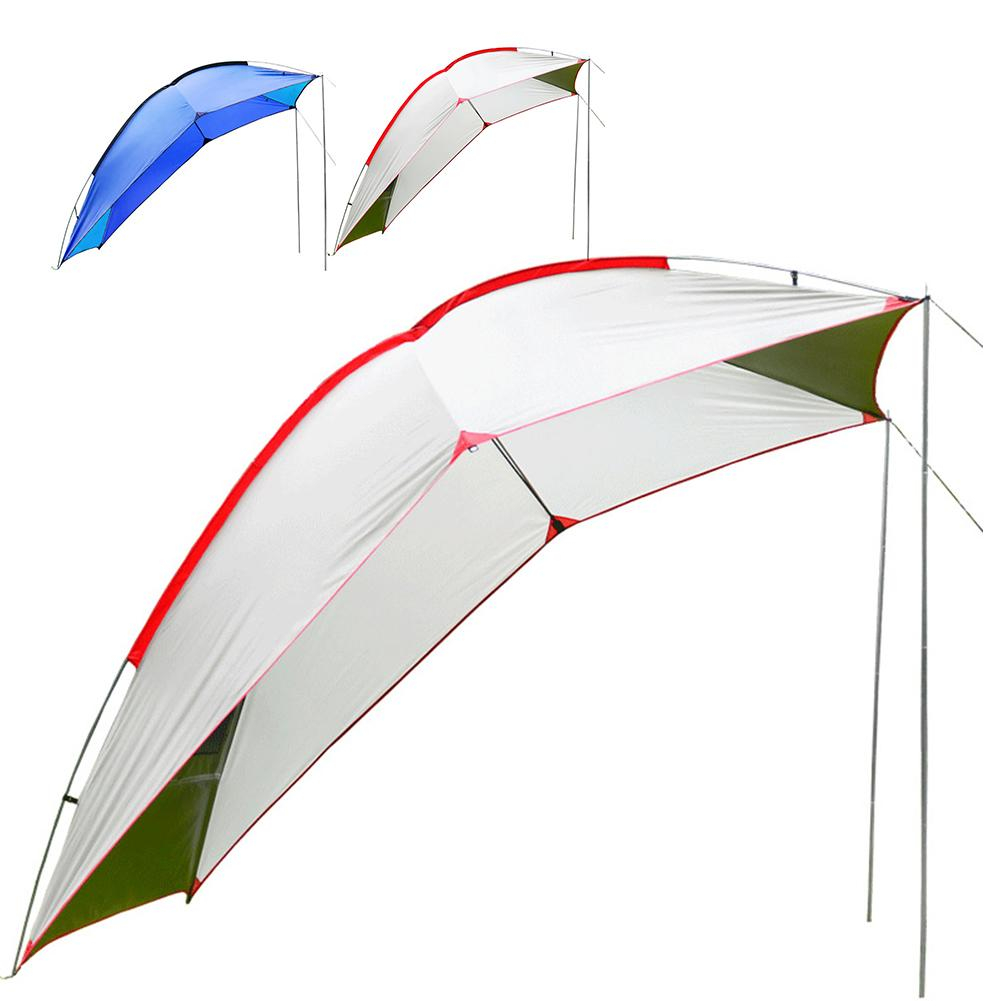 Nueva tienda de campaña portátil al aire libre auto conducción Tour barbacoa multipersona Visor de lluvia Gazebo playa toldo carpa impermeable portátil - 2