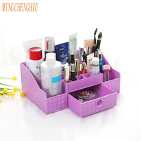Creative Drawer Jewelry Makeup Organizer Box Multifunctional Household Dressing Plastic Cases Desktop Cosmetics Storage Box