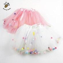 Skirt for girls 4 Layers Balls