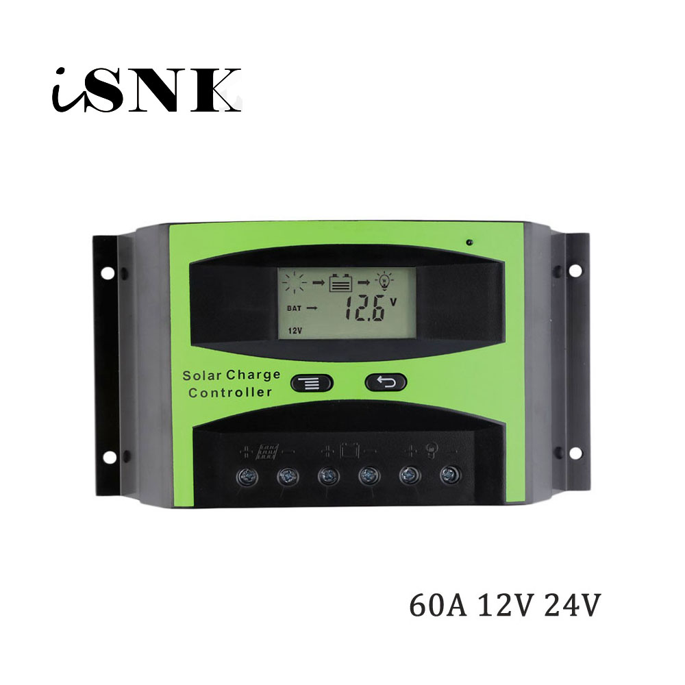 LCD 60A 12V 24V Solar System generator cell Panel Charger Regulator Battery Controller 1KW 2KW 3KW 500W 600W 800W 1000W 1500WLCD 60A 12V 24V Solar System generator cell Panel Charger Regulator Battery Controller 1KW 2KW 3KW 500W 600W 800W 1000W 1500W