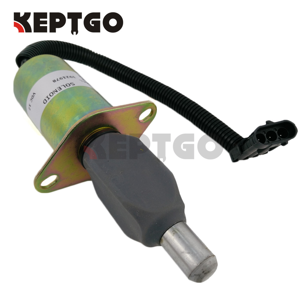3921978 Shutoff Solenoid 12V For Cummins 6CT/6CTA 8.3 3918600 TJG130805 39183433921978 Shutoff Solenoid 12V For Cummins 6CT/6CTA 8.3 3918600 TJG130805 3918343