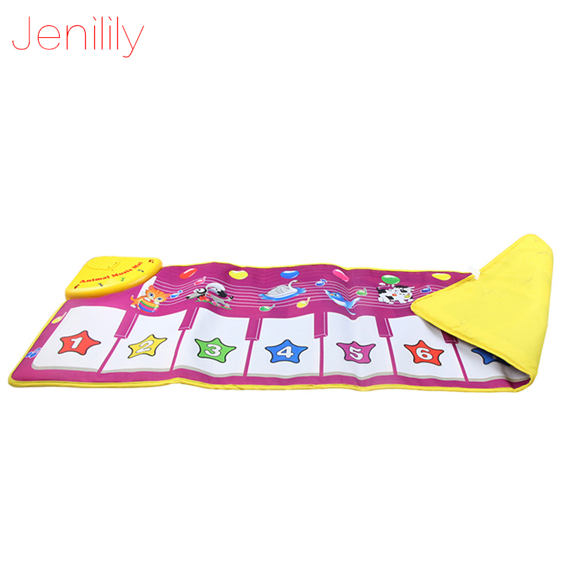 New Baby Musical Carpet Kids Play Mat Baby educational Mat Electronic Toys for Children Piano Musical Toys 100*36 cm | Happy Baby Mama