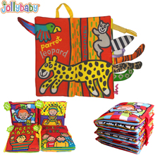 Jollybaby Baby Toys Infant Kids Early Development Cloth Book