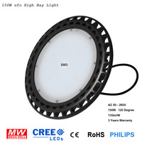 led high bay light 100w 150w 200w 250w for warehouse lighting 100 pcs free shippping