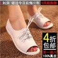 Mulheres sapatos sandalias femininas limitada toe 2016 toe sapato das mulheres sapatos de salto plana genuínos sandálias de verão casuais frete grátis