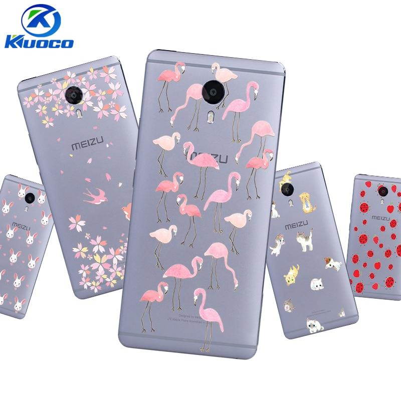 Custom DIY Phone Case for Meizu U10 Shell for Meizu MX6 Pro Coque for Meizu M3 MAX Cover for M3X Soft TPU Animal Family Printing