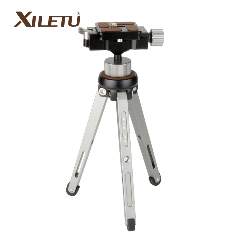 Ulanzi Portable Tripod Stand for DSLR Camera Octopus Smartphone Tripod with Ballhead Quick Release Plate for iPhone Xiaomi