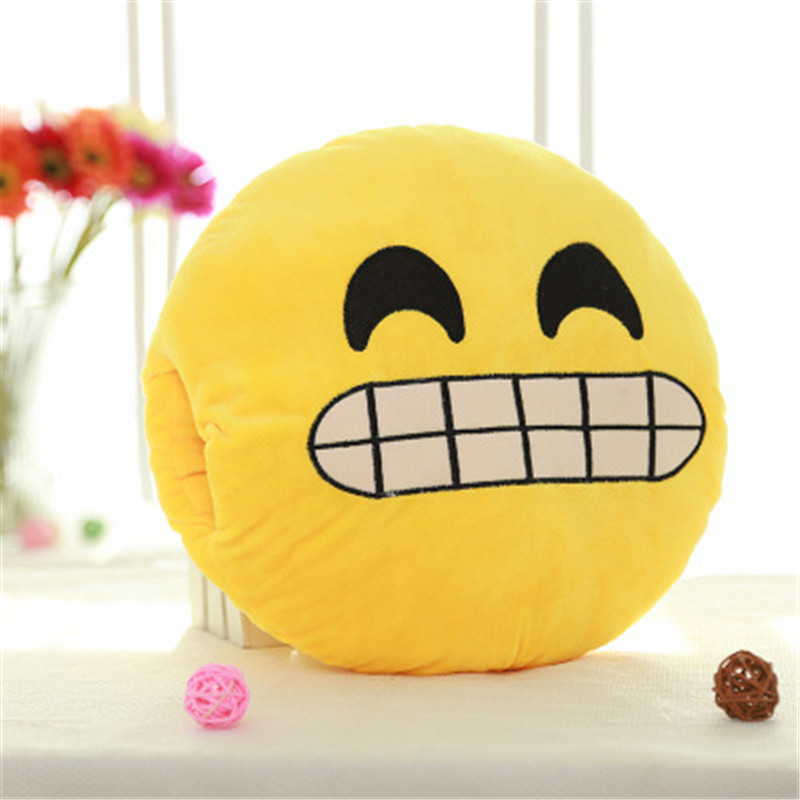 Explosive expression pillow can be inserted emoji funny face warm hand doll plush doll GXJ092