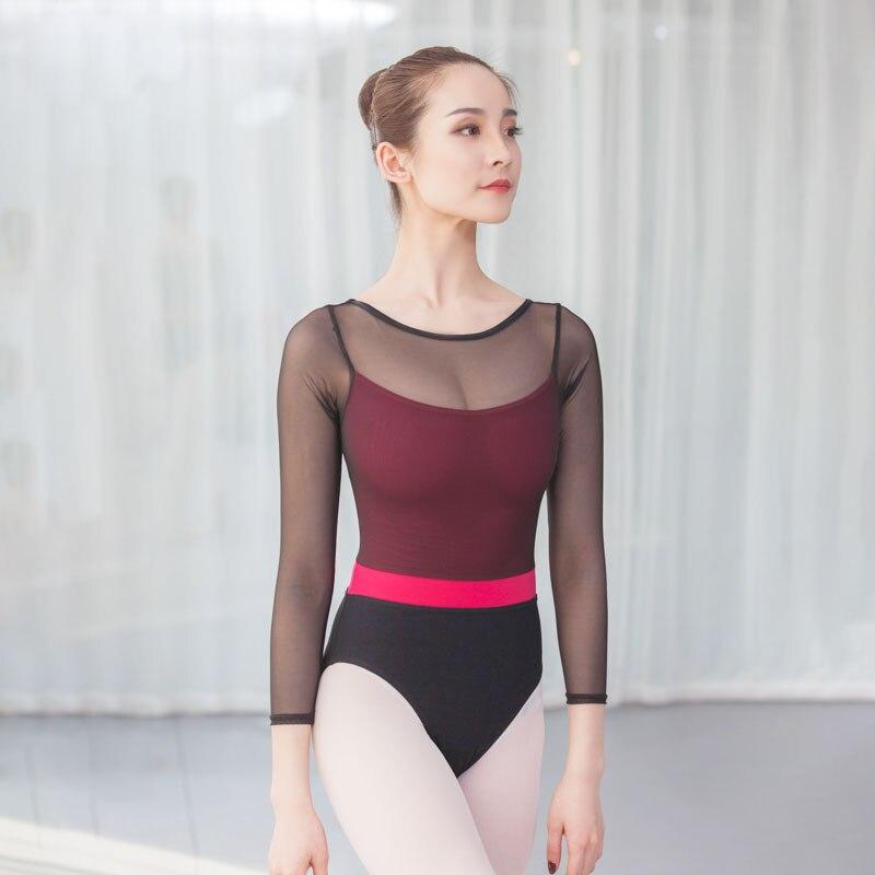 15edae437e87 New dance supplies gym suit clothing leotard ballet women Dance wear ...