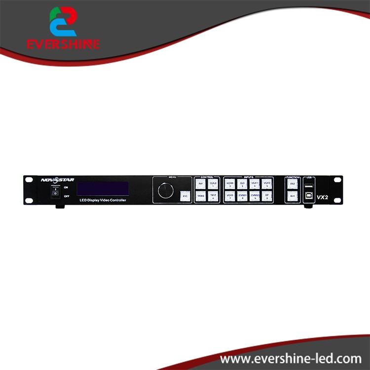 Nova VX2 LED Video Processor HDMI/DVI/VGA/CVBS/DP input LED rental screen video processor Novastar wavelets processor