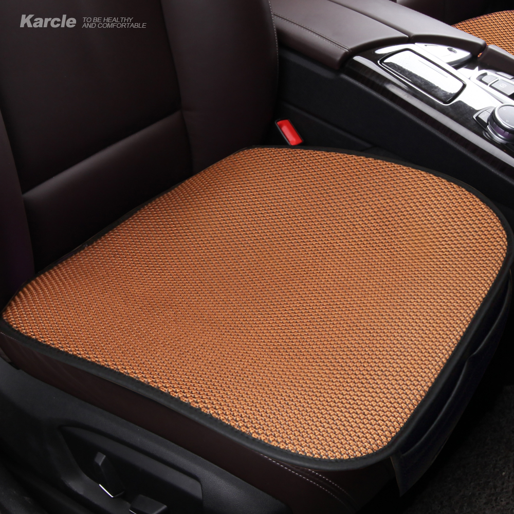 Karcle 1PCS Universal Car Seat Covers Breathable Summer Driver Seat Cushion Car Chair Pad Car-styling Automobiles Accessories