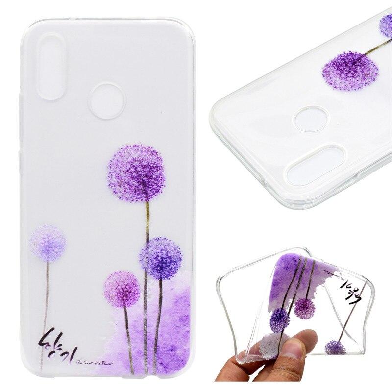 Transparan TPU Penutup Untuk Huawei P20 Lite Kasus Warna dekorasi - Aksesori dan suku cadang ponsel - Foto 6