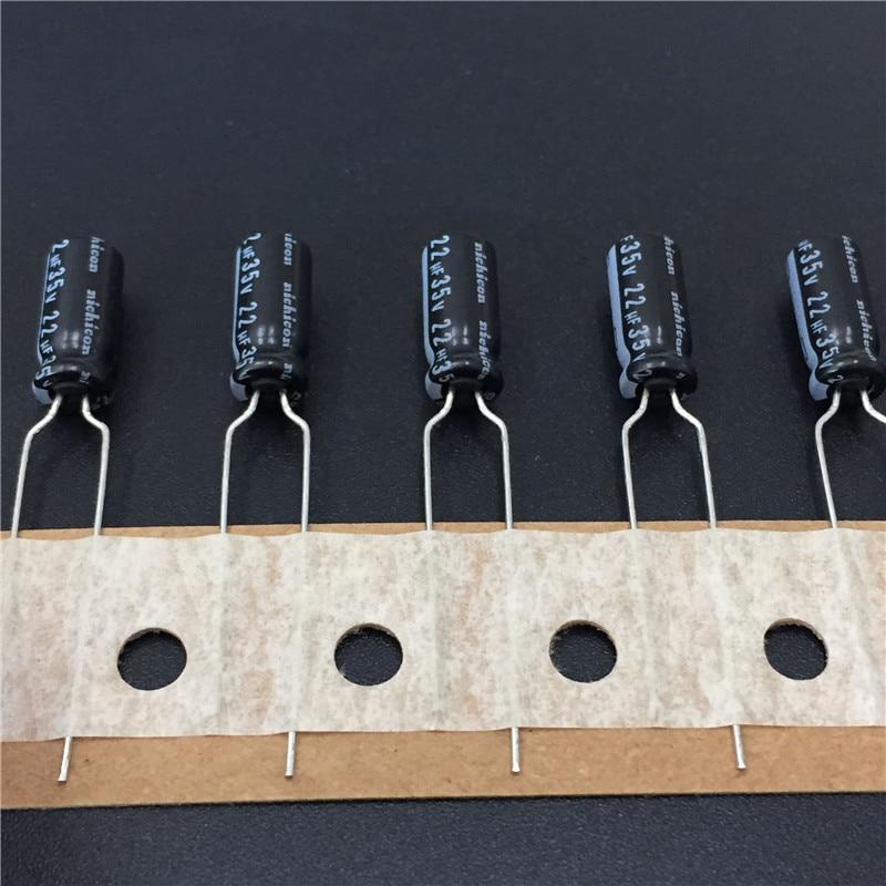 100pcs 33uF 35V Aluminum Electrolytic Capacitor Radial.