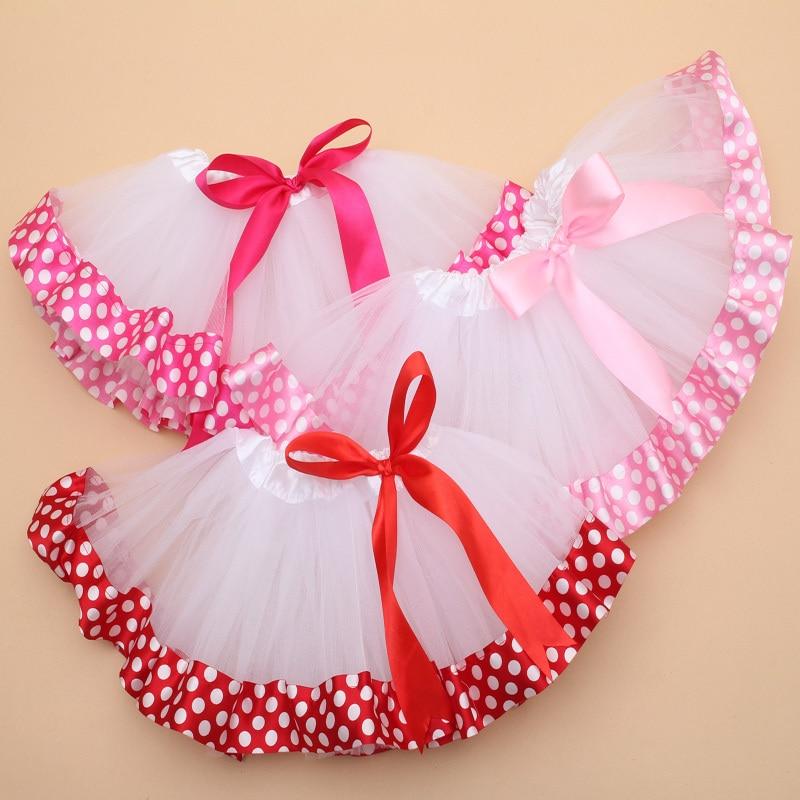 Baby Tulle Tutu Skirt Toddler Girl Dance Ribbon Skirt Tutu Cute Kids Infant Ball Gown Pettiskrit Baby Girls Chiffon fluffy Skirt