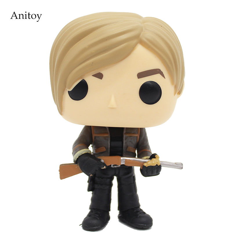 Resident Evil Leon Scott Kennedy PVC Figure Collectible Toy 9cm KT4163