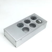 Full aluminum HIFI EU power case European standard power socket chassis HiFi US power case DIY box