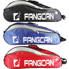 High Quality FANGCAN Double Compartment Racket Bags 6 Pieces Capacity Seperated Shoes Bag
