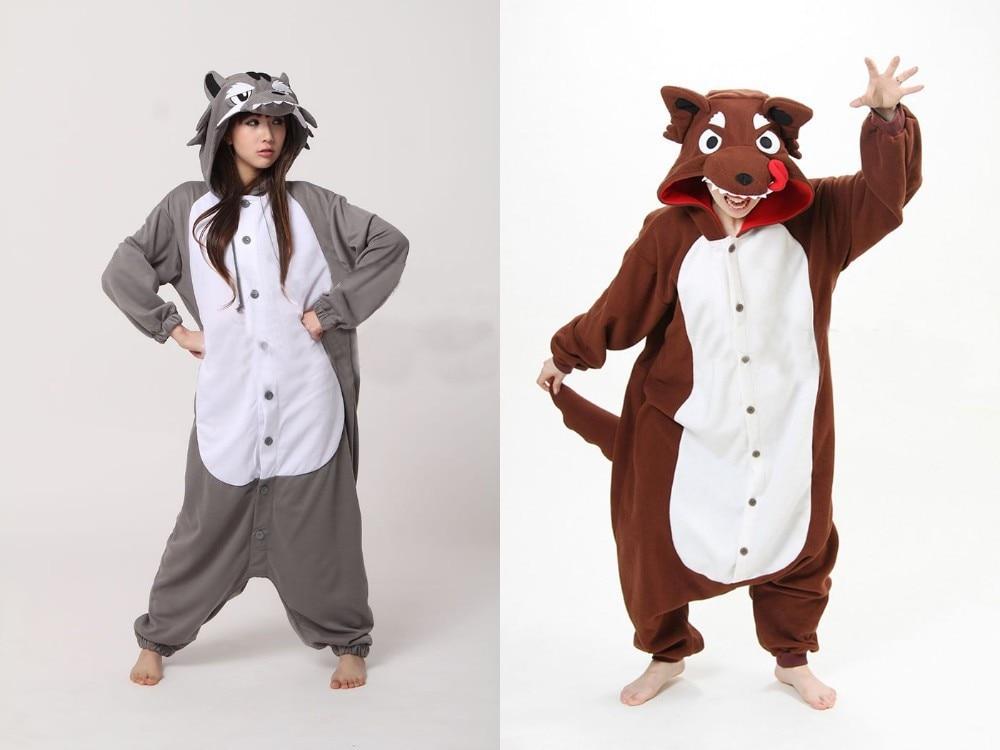 c815c0e6964d Online Shop NEW Polar Fleece Fashion Wolf Animal Pajamas Pyjamas Party  Costume Onesies Animal casual for Adult One Piece Anime Sleepwear