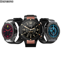 SENBONO H2 MTK6580 OS Android 5 1 ROM 8G RAM 1G Bluetooth Smart Watch Support Wifi