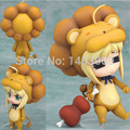 Fate Stay Night Q version Nendoroid #50 Saber Lion PVC Action Figure Collectible Model Toys Doll