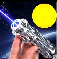 JSHFEI High Power Blue Laser Pointers 450nm Lazer Flashlight Burning Match/Burn light cigars/candle/black Hunting