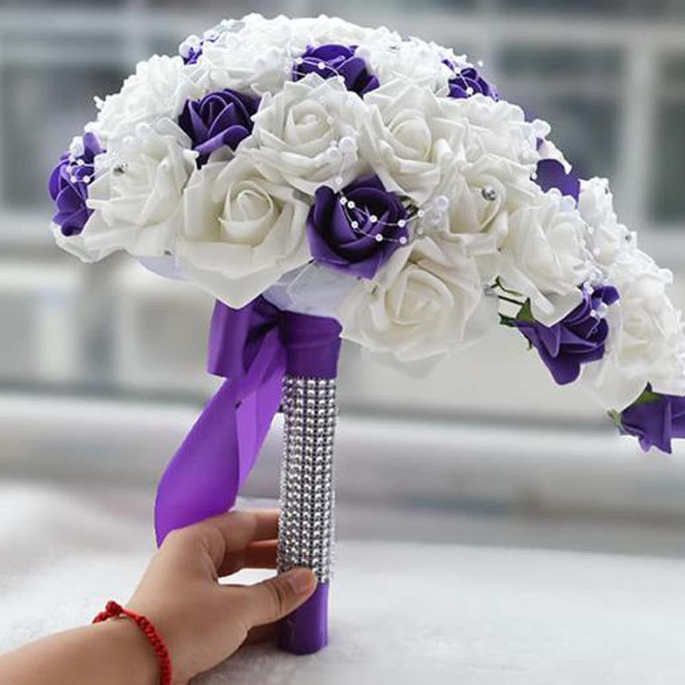 Compare Prices On Cascading Bridal Bouquet Online Shopping Buy Low Price Cas