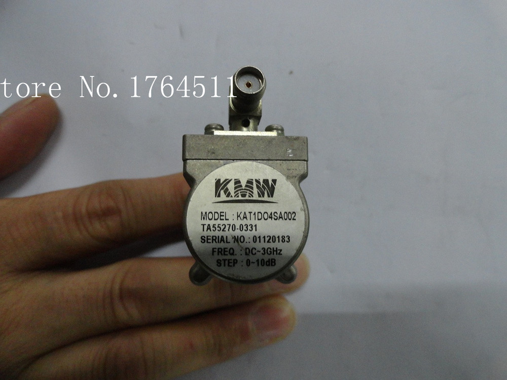 [BELLA] KMW KAT1D04SA002 10dB DC-3GHz Adjustable Step Attenuator SMA