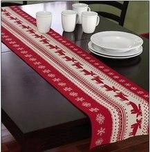 33x46 см или 33x180 Рождественский стиль скатерти и журнальный