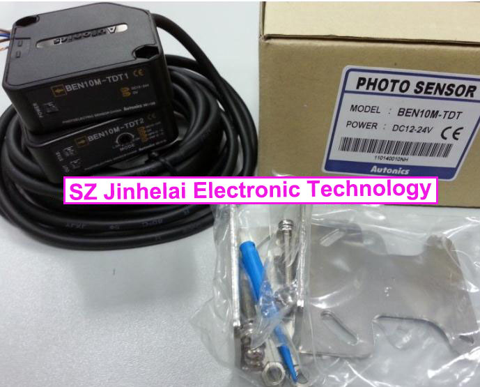 100% New and original  BEN10M-TDT   AUTONICS  PHOTOELECTRIC SWITCH   DC12-24V original otto nicks autonics photoelectric switch ben3m pfr