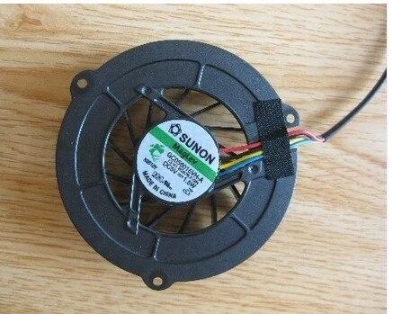 Atacado new cpu fan para asus v2 v2je-1a ventilador gc056015vh-a 13. v1.b2576. f. gn frete grátis