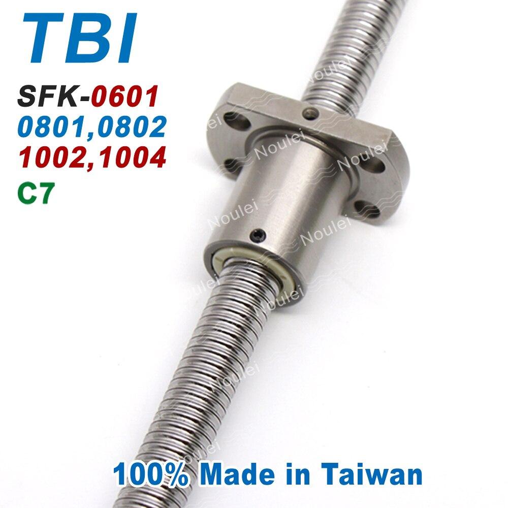 TBI C7 Miniature 6mm 8mm 10mm Ball Screws 0601 0801 0802 1002 1004 100mm 150mm 200mm with SFK Ballscrew Nut SFK0802 SFK1002 new york institute of photography