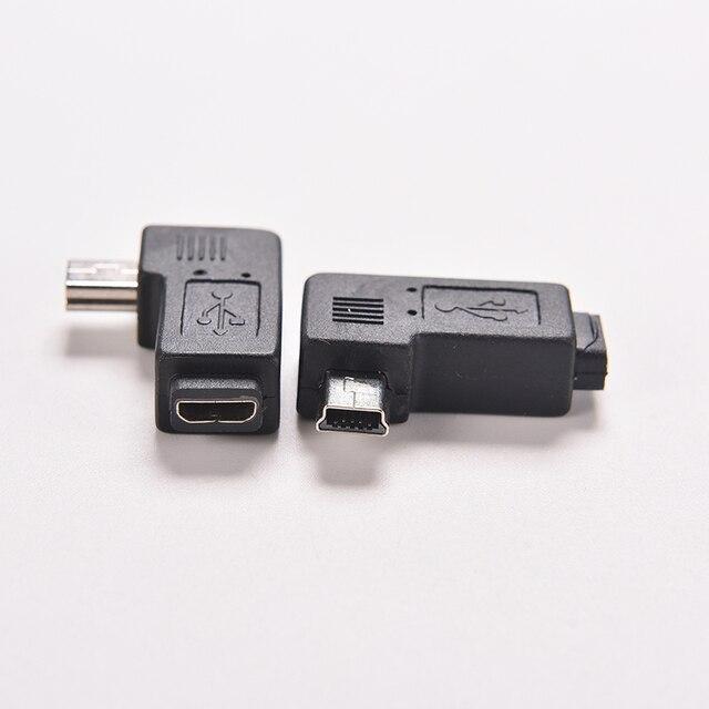 Neue 1 Stück 4 Typ Micro Mini Usb Buchse Auf Mini Micro Usb Stecker