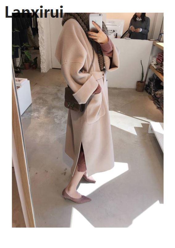 New Arrival Autumn European Style Women Plus Size Long Cardigan Sweater Long Sleeve Coat Loose Big Yards Coat Outwear Big 3XL