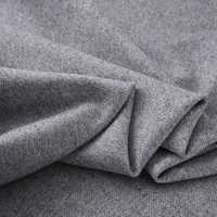 150CM Wide Gray Wool Cashmere Fabric for Autumn Spring Dress Overcoat Jacket Coat H375
