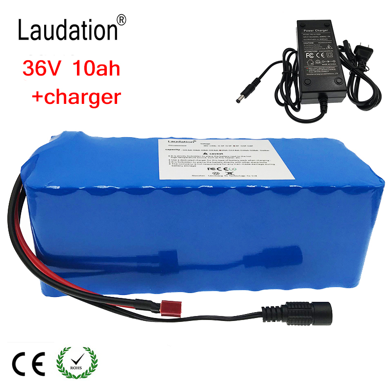 36V 10ah electric bicycle battery 42V 18650 battery pack 10S4P 500W high power and capacity 42V motorcycle scooter with 15A BMS