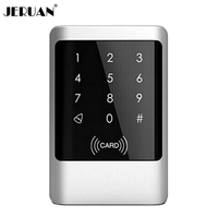 New High Security Metal Case Touch sensor Key Waterproof Rfid Door Access Controller with Keypad Code In Stock FREE SHIPPING
