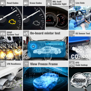 Image 3 - LAUNCH X431 CRP123 OBD2 EOBD automotive scannerABS Airbag SRS Transmission Engine Car Diagnostic Tool Multilingual free update