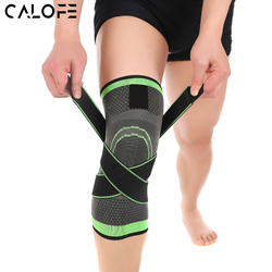 CALOFE 2Pcs Freeship Knee Support Professional Protective Sports Knee Pad Breathable Bandage Knee Brace Basketball Cycling Z40