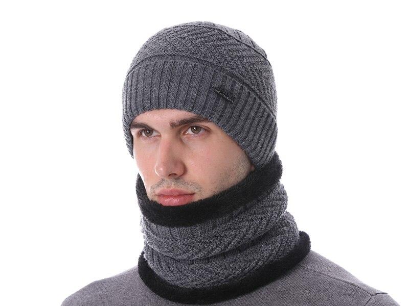 قبعات مع وشاح للرجال 1